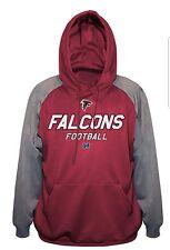 Atlanta Falcons NFL Poly Fleece Hoodie, Mens Big Size NWT 2XL