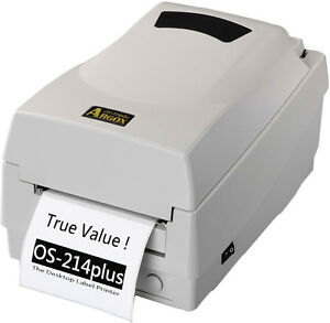 Barcode-Thermo-Transfer Etikettendrucker OS-214+ PLUS