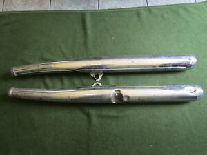 Yamaha RD250 C DX RD 250 Exhausts Silencers With Baffles