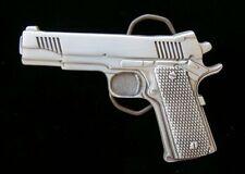 9MM GUN BELT BUCKLE NEW!