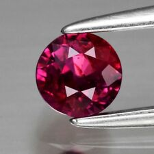 Rare! 0.58ct 4.3mm Round Natural Unheated Untreated Red Ruby, Mozambique