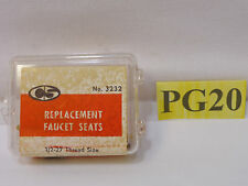 New listing 4 Cs Chicago Specialty Replacement Faucet Seats No. 3232 1/2 27 Thread Size