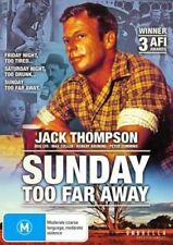 SUNDAY TOO FAR AWAY DVD ( JACK THOMPSON ) NEW AND SEALED  AUSTRALIAN MOVIE