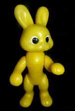 1970s Ussr Russian Soviet Large Size Plastic Toy Doll Yellow Hare  00004000