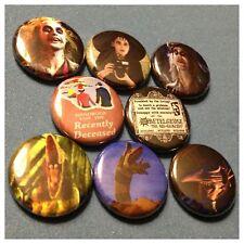 "BEETLEJUICE 8 1"" buttons badges Betelguise Keaton Ryder Tim Burton"