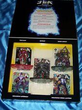 JLA 5-Piece Super Heroes Set II: Batman*Flash*Green Arrow*Superman*Green Lantern