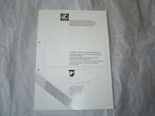 CLAAS combine cab air conditioning heating fitting instruction service manual