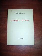 Maria Luisa d'Aquino VESPERO ACCESO GUANDA collana falena 35 copia autografata