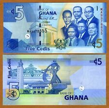 Ghana, 5 Cedis, 6-3-2010, P-NEW like P-38, UNC