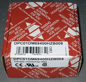 3-Phase Monitoring Relay, 600/690V 50-400Hz, DPC01DM69400HZ-B008, Carlo Gavazzi