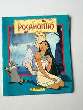 Vintage Greek Pocahontas Panini Sticker Album Disney - 65 Stickers