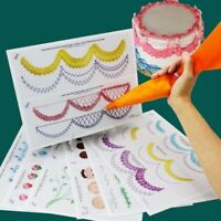 Making Cake Decorating Tool Nozzles Icing Piping Board Paper Practice Drawings