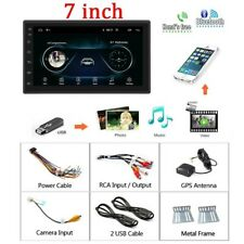 """7"""" 2 Din 8.1 Android Car Radio GPS Navigation Wifi Bluetooth with 12 LED Camera"""