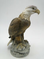 Andrea 7 1/8in Bald Eagle hand painted china figure