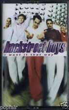 BACKSTREET BOYS - I WANT IT THAT WAY 1999 UK CASSINGLE