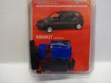 Herpa 012140-005 MINIKIT VW Polo 2-türig Ultramarinblau Bleu Kit 1:87 Neuf