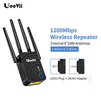 1200Mbps Wireless WiFi Repeater Router Range Extender Booster Dual Band Outdoor