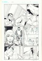 G.I. Joe Tokyo #1 p.19 - Tied Up - Signed art by Tim Seeley