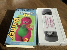Barneys Alphabet Zoo Used VHS 2000 Classic Collection Kids Fun Learning Songs