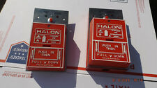 Fire-Lite Halon system Pull Station BG10.***Only Ones On eBay like this***