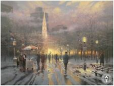 Boston Celebration Thomas Kinkade Postcard Art Collectors City