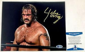 Ring Of Honor ROH Wrestling Silas Young Autographed 8X10 Photo Signed BAS COA