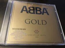 ABBA - GOLD - GREATEST HITS CD - WATERLOO / MAMA MIA / FERNANDO / DANCING QUEEN