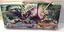 Bandai SD set 0 Gundam Type A.C.D. BB#333 & SD Gundam Exia Repair II BB#334 USA