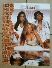 DESTINY'S CHILD 17x22 Dealer Promotional Poster SURVIVOR, BEYONCE, KELLY ROWLAND