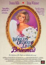 THE WORLD'S OLDEST LIVING BRIDESMAID Movie POSTER 27x40 Donna Mills Anthony