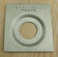 Linhof III 3 5x4 Technika  Lens board with 34.8mm compur copal 0 hole  recessed