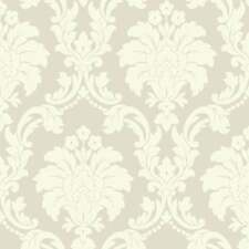 Arthouse Opera Romeo Cream Damask Feature Wallpaper 693502