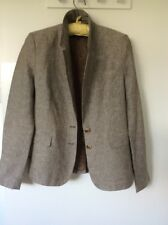 🎀 French Connection linen blazer size 14