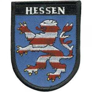 AUFNÄHER - Hessen - 00450 - Gr. ca. 6 x 7,5 cm - Patches Stick Applikation