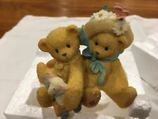 "Cherished Teddies "" Old Friends Always Find There Way Back"" Chelsey & Daisy"