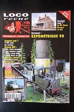 MODELISME FERROVIAIRE TRAIN MAGAZINE LOCO REVUE N° 620 de 1998