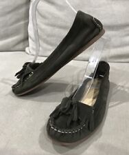 COUNTRY ROAD Womens Leather Suede Casual Loafers Shoes Size 37