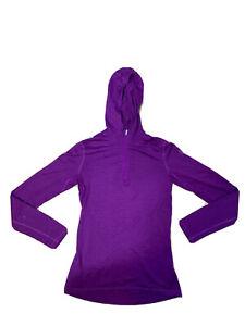 Icebreaker Merino Womens Bodyfit 200 Size S Hooded Jumper