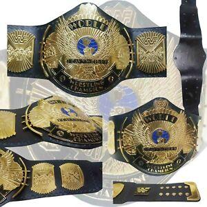WWF Winged Eagle World Heavyweight Wrestling Championship Title Belt Adult 2mm