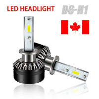 2x 60W H1 LED Bulb Auto Headlight Drive Fog Bulbs Kit 12000LM White IP65 6000k