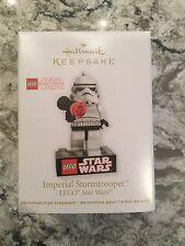 Hallmark Star Wars LEGO Stormtrooper ornament mint in box