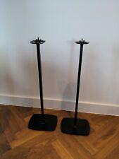 Pair of Flexson Sonos One play:1 speaker stands in black