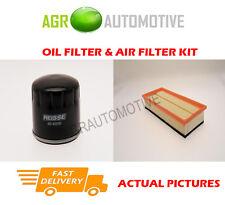 PETROL SERVICE KIT OIL AIR FILTER FOR ALFA ROMEO 147 1.6 105 BHP 2001-10