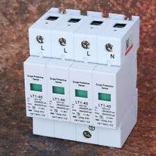 4P 420V Surge Protector 40ka Protection Module Appliances Low Voltage Arrester