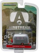 GREENLIGHT AIRSTREAM 16' BAMBI SPORT  HOBBY EXCLUSIVE DIECAST 1/64 SIL  29857