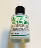 Radience Labs HEMP + VITAMIN C Daily Face Serum With Omega 3 & 6 2fl oz NEW!