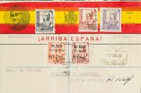 España. Canarias. Over 48, 49. 1938. 5 Pts And 10 Pts. Certificate Of Port