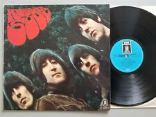 BEATLES RUBBER SOUL GERMAN REISSUE LP vinyl pressing