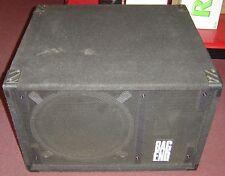 """Bag End S15B-D 15"""" Bass Cabinet (Black Carpet)"""