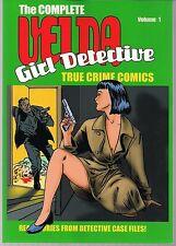 VELDA: GIRL DETECTIVE VOL 1 CALIBER SC GN TPB MATURE 50's STYLE CRIME TALES NEW